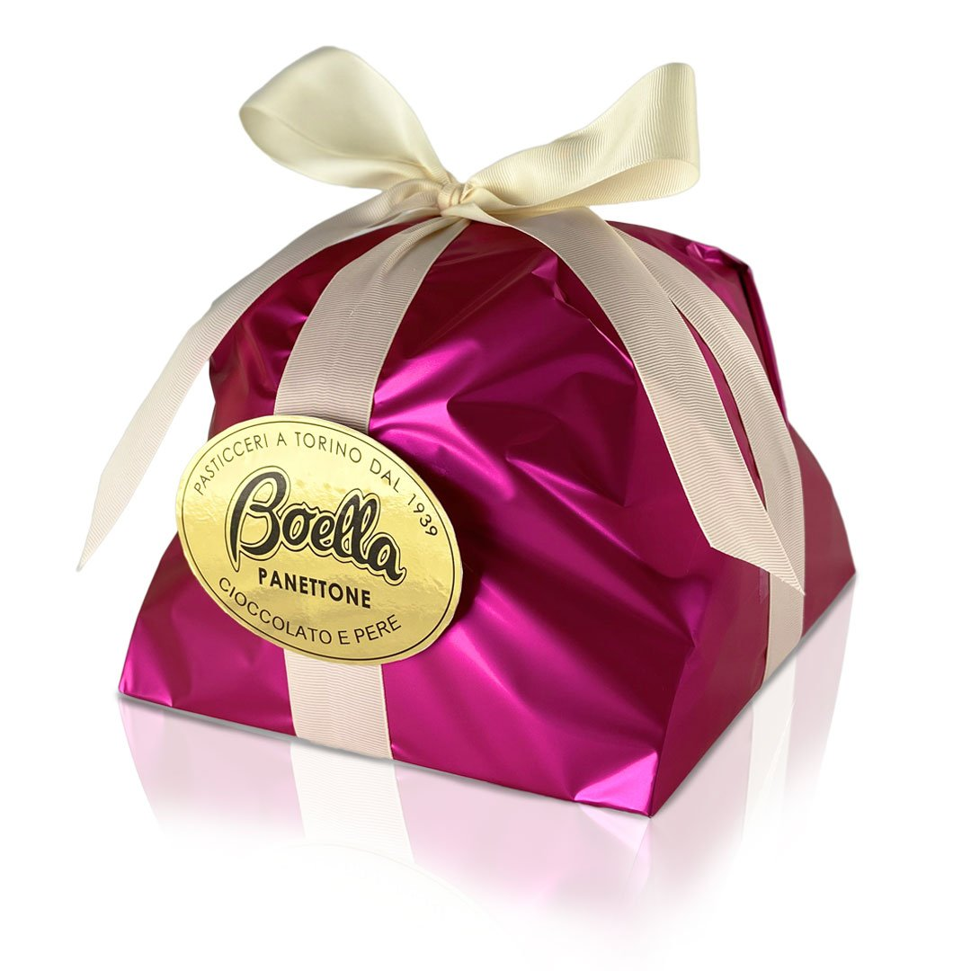 boellasorrisi panettone cioccolato e pere