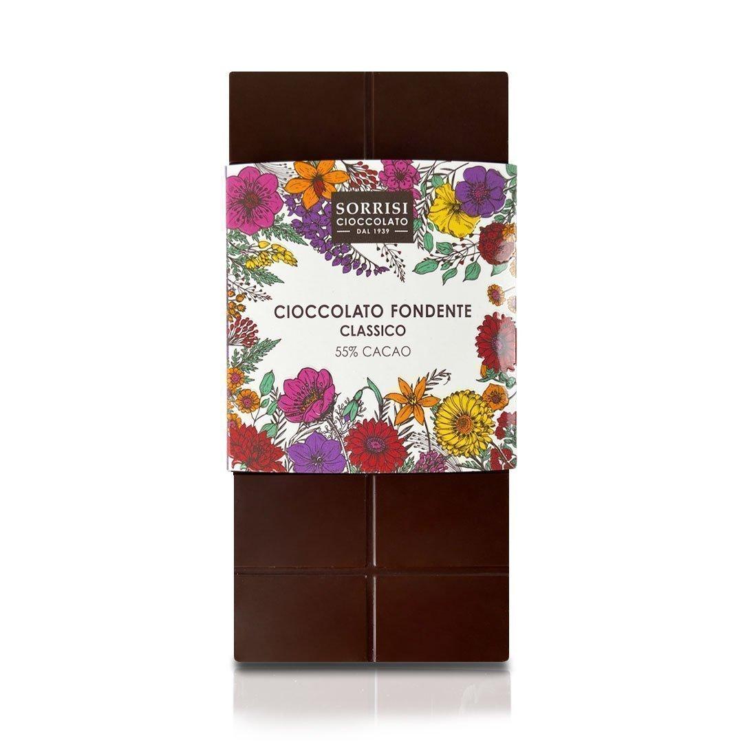 Boellasorrisi cioccolato fondente classico 55 cacao