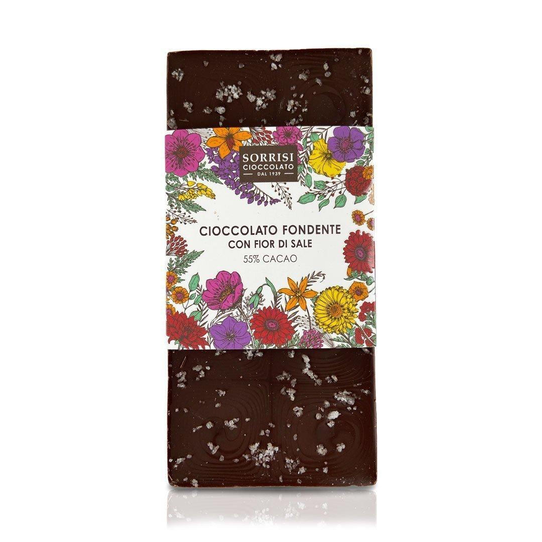 Boellasorrisi cioccolato fondente con fior di sale