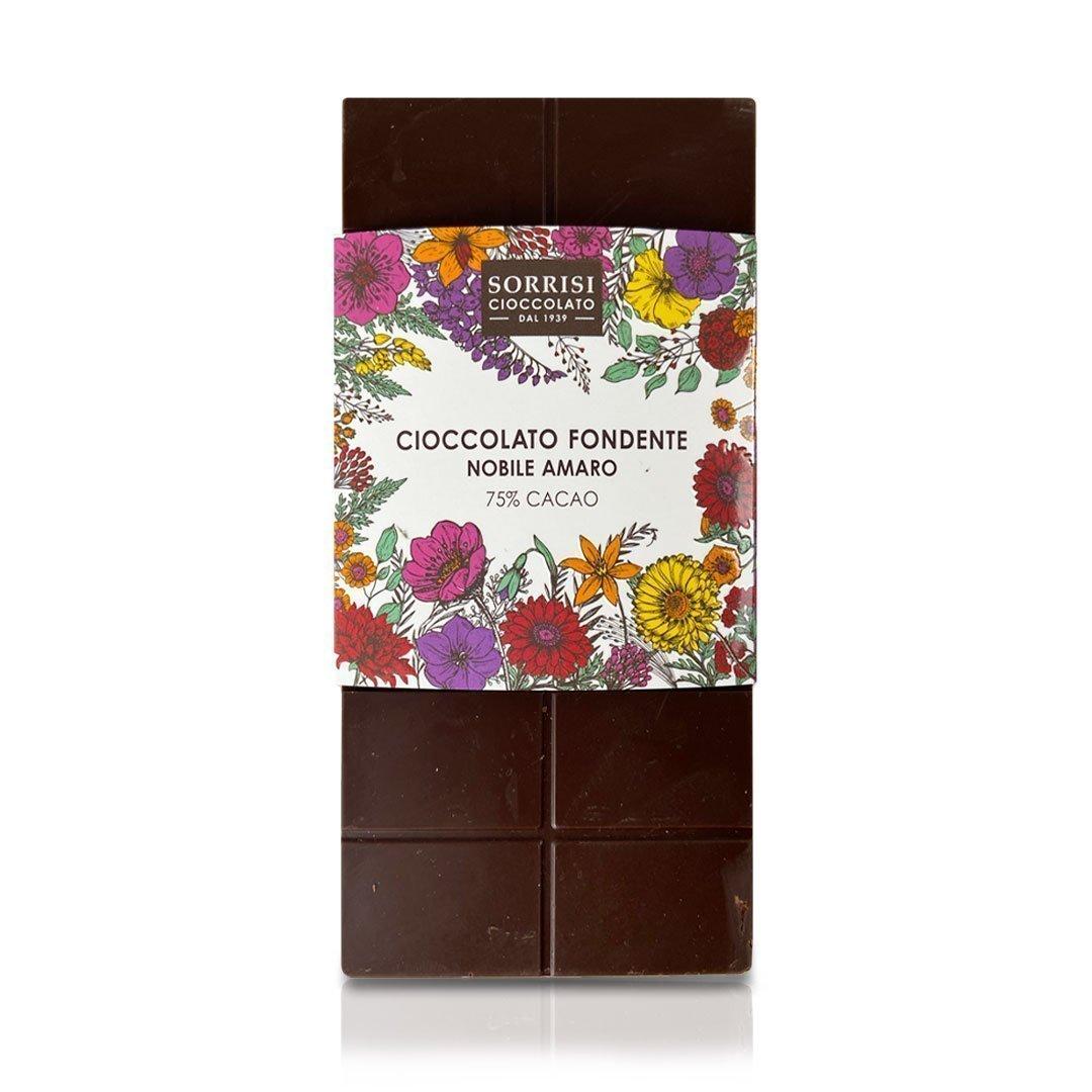 Boellasorrisi cioccolato fondente nobile amaro 75