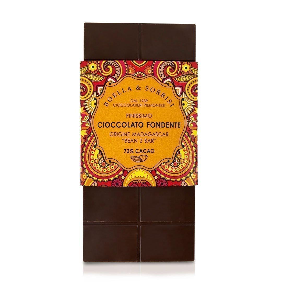 Boellasorrisi cioccolato fondente origine madagascar 72