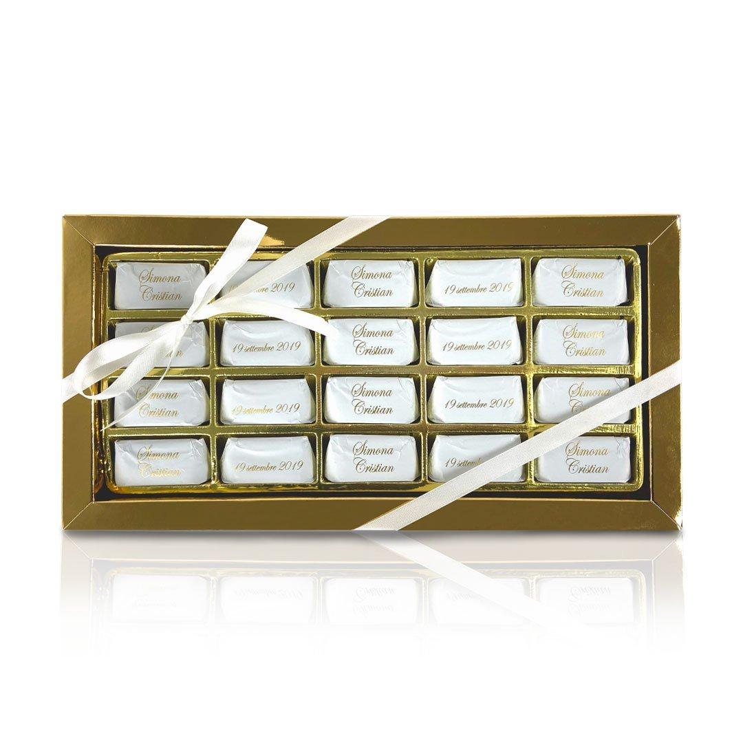 Boellasorrisi scatola gianduiotti personalizzati 20 pezzi
