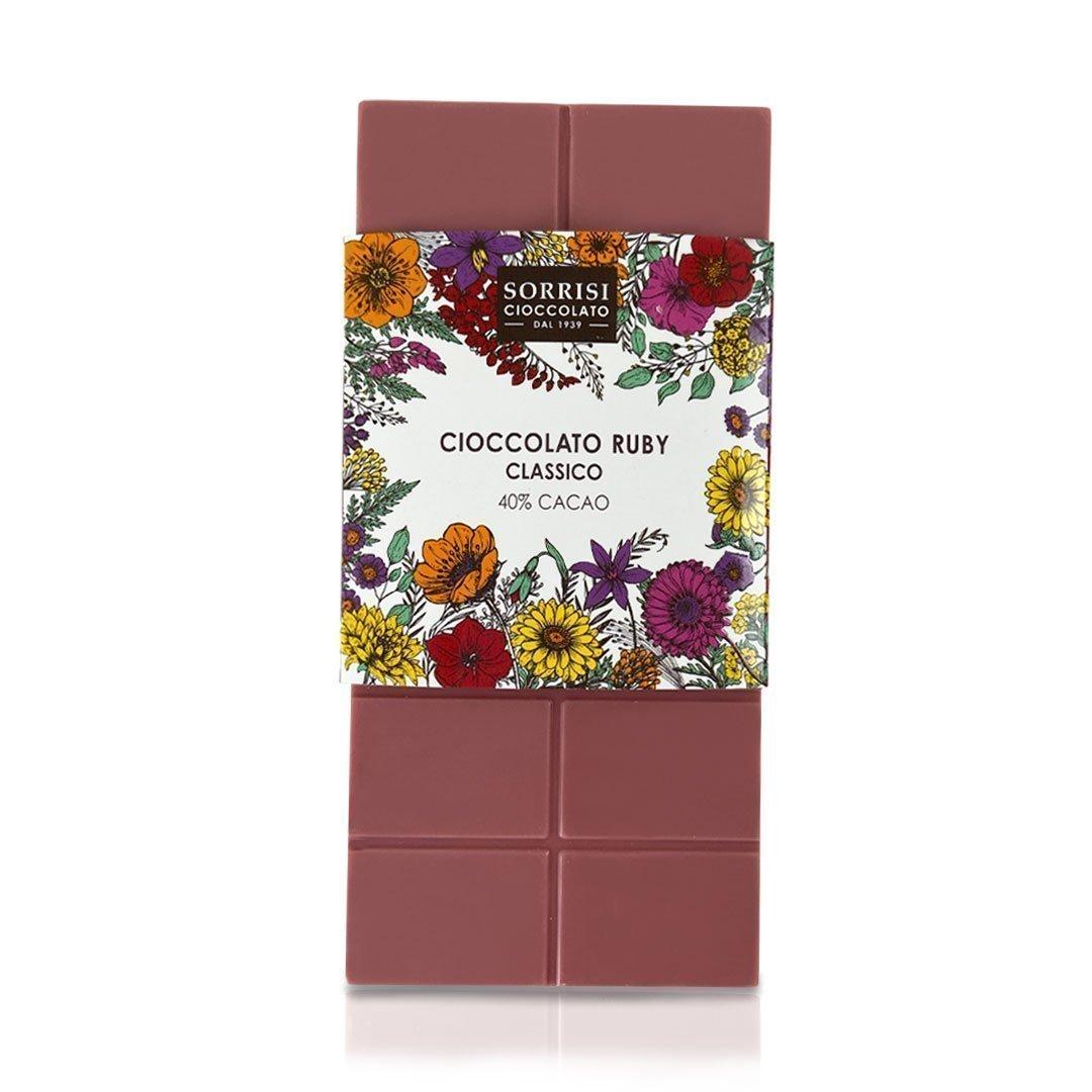 Boellasorrisi tavoletta ruby classico 40 cacao 1