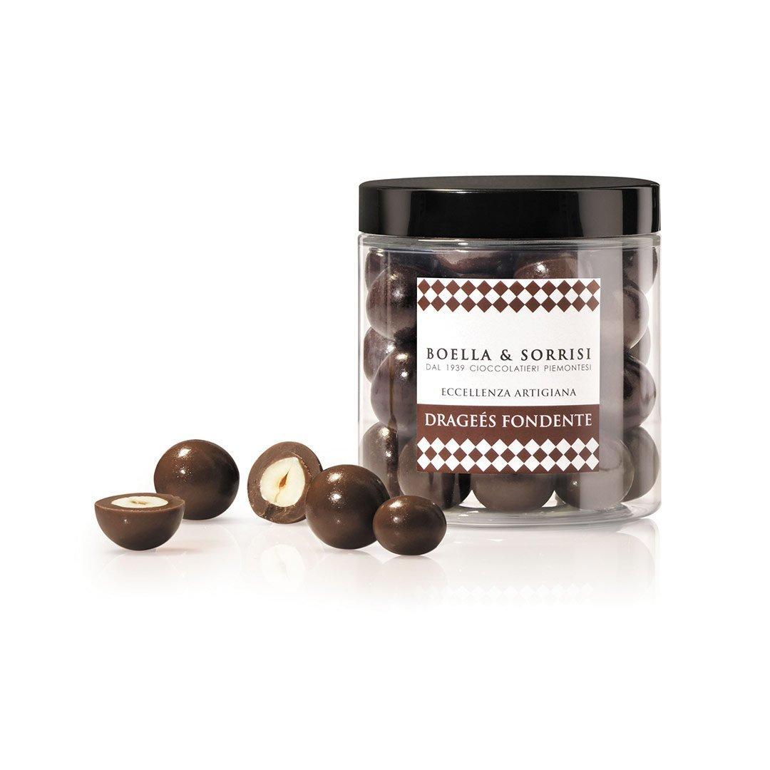 boellasorrisi nocciole ricoperte cioccolato fondente