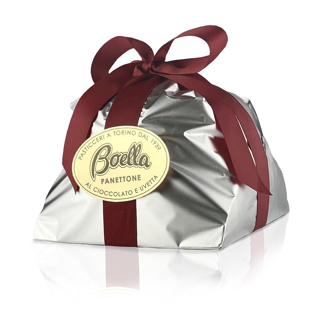 boellasorrisi panettone cioccolato uvetta