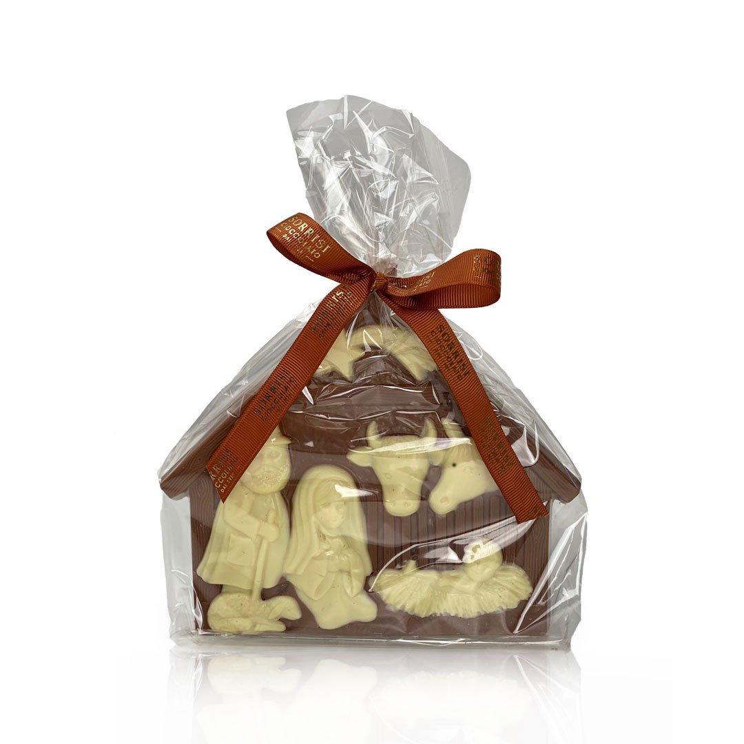 boellasorrisi presepe cioccolato al latte